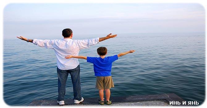 Признаки мужчины отца