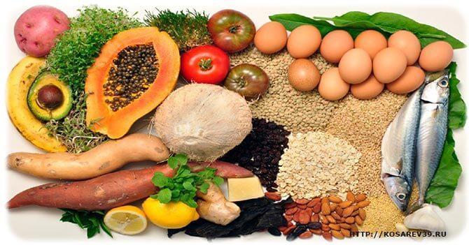 полезная и здоровая еда
