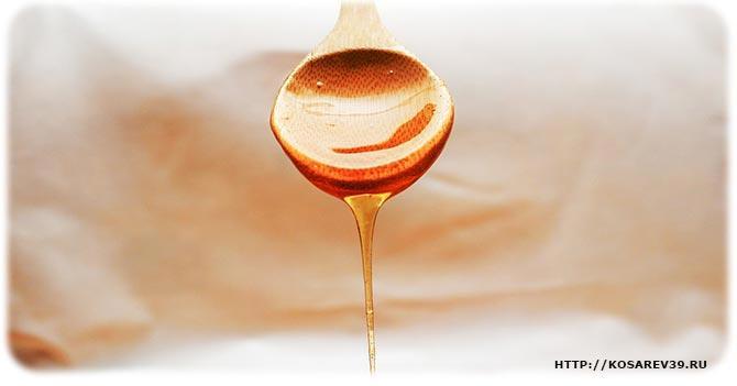 Мёд против угрей