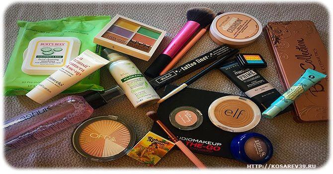 фото продуктов косметики