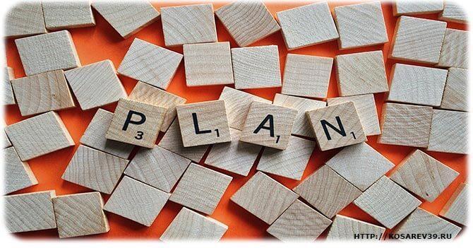 План достижения целей