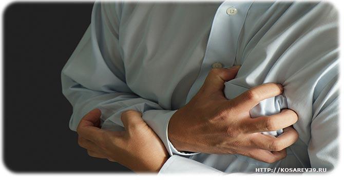 Зажимы в грудном отделе