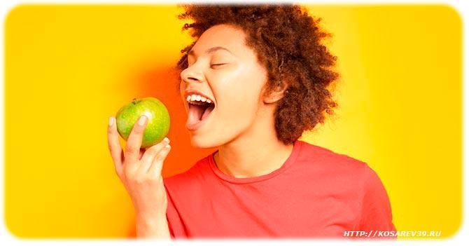 Польза яблок для женщин