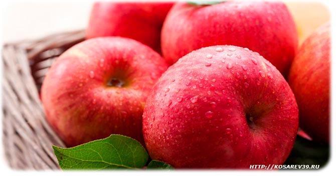 Польза яблок на организм