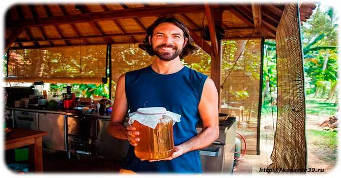 Чайный гриб для мужчин