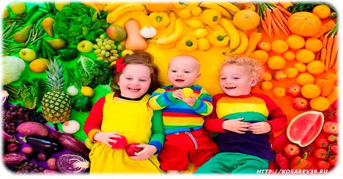Кабачки для детей