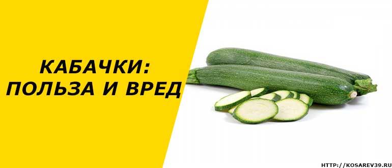 Чем полезны кабачки: лечебные свойства, применение, рецепты