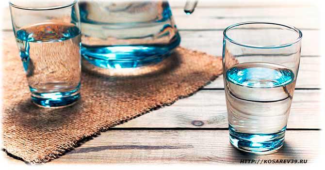 Польза употребления воды