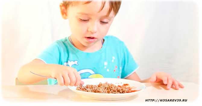 Польза гречки для детей
