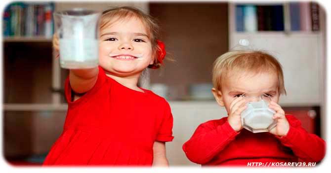 Польза кефира для детей