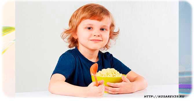 Польза пшенной каши для детей