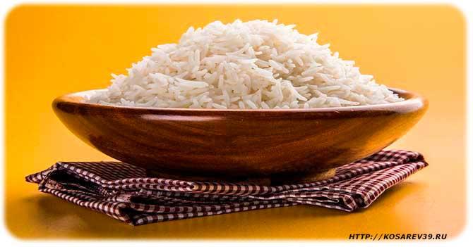 Польза и вред риса для детей