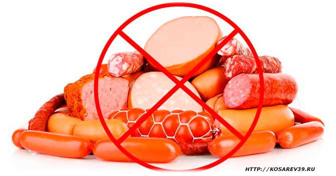 Пищевые добавки в мясных продуктах