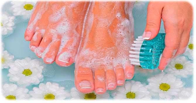 Борьба с запахом ног