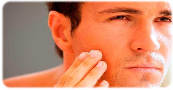 Шелушащаяся кожа после бритья