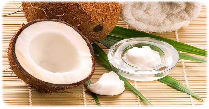 Кокосовое масло для жирной кожи