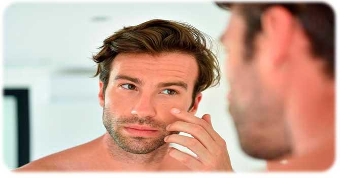 Сухость лица у мужчин