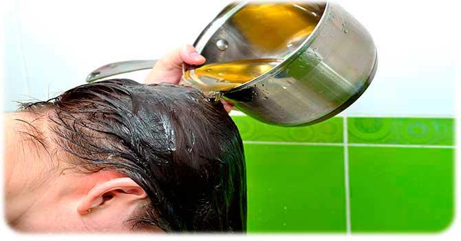 Травяной настой от выпадения волос