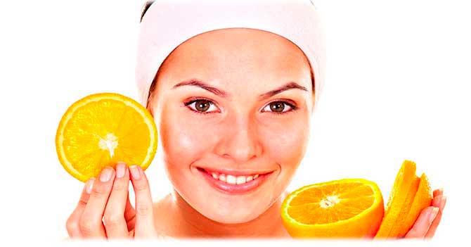 Апельсиновая маска для комбинированной кожи