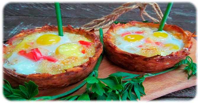 Рецепты из перепелиных яиц