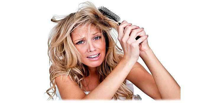Сухой тип волос