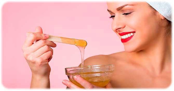 Желатин с медом для волос
