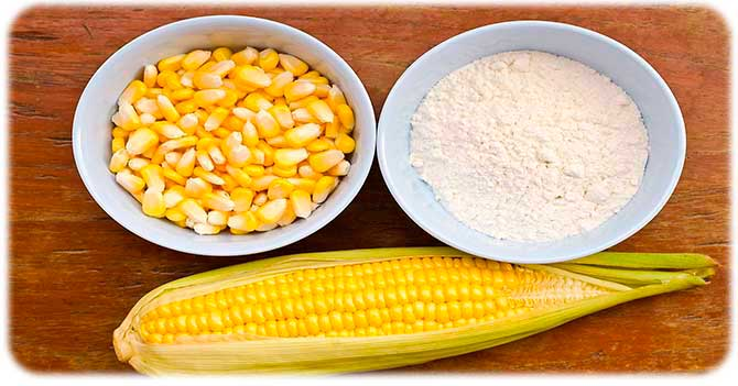 Крахмал из кукурузы