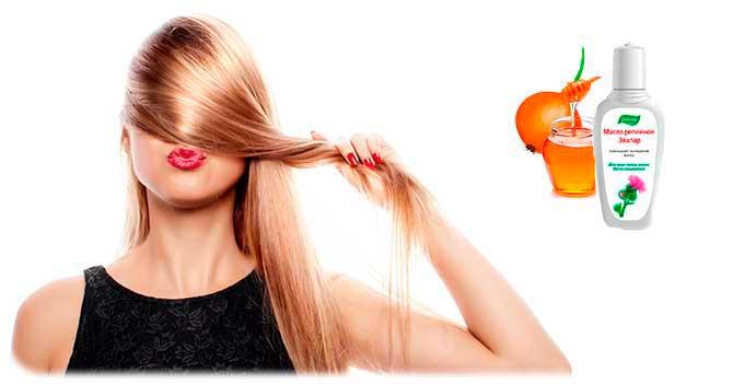 Луковое питание волос