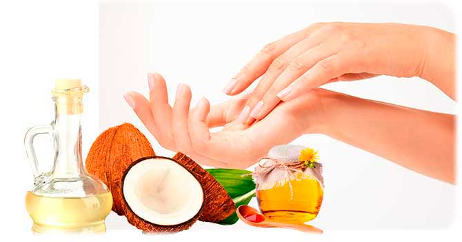Масло кокоса для рук