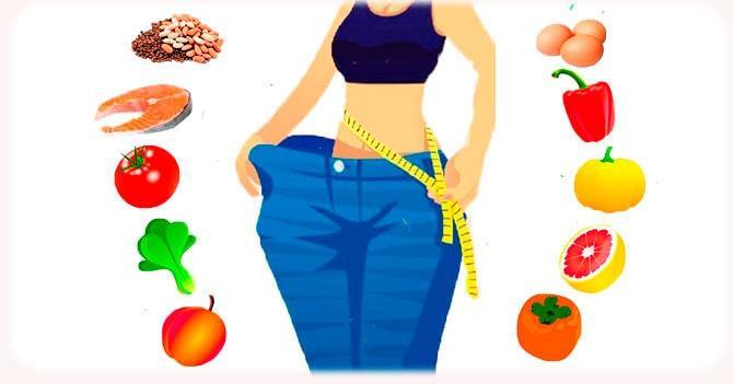 Белки и витамины для похудения