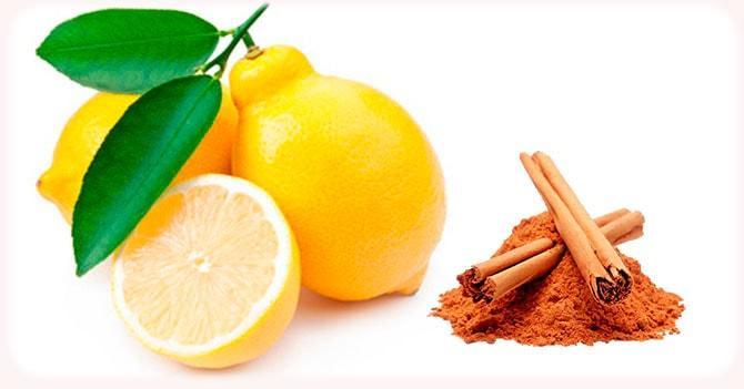 Корица с лимоном для иммунитета