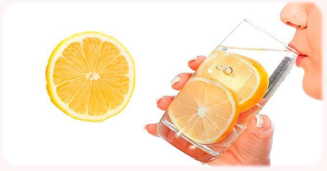 Лимонная вода для здоровья