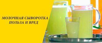 Польза и вред молочной сыворотки