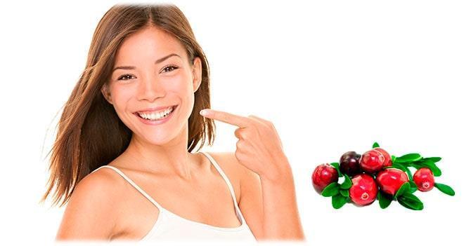 Вред клюквы для зубной эмали
