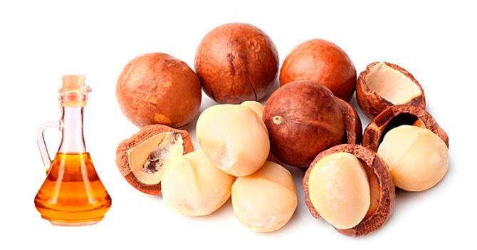 Настойка на орехе макадамия