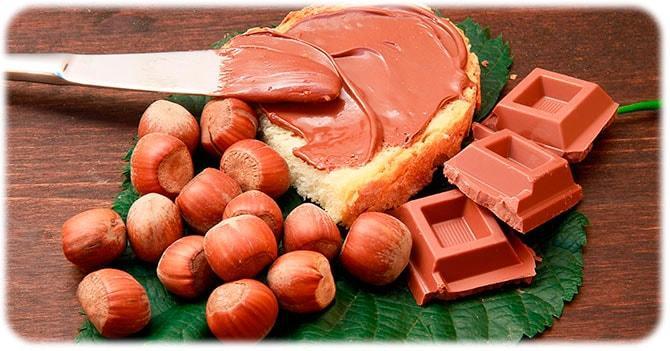 Шоколад из фундука