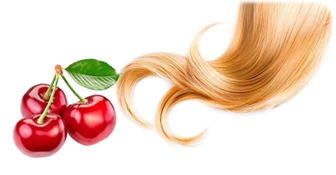 Маска для волос из черешни