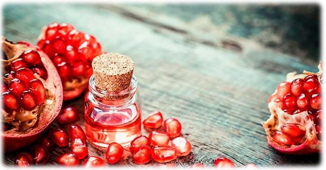 Польза гранатового масла