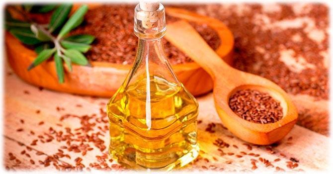 Базовое льняное масло