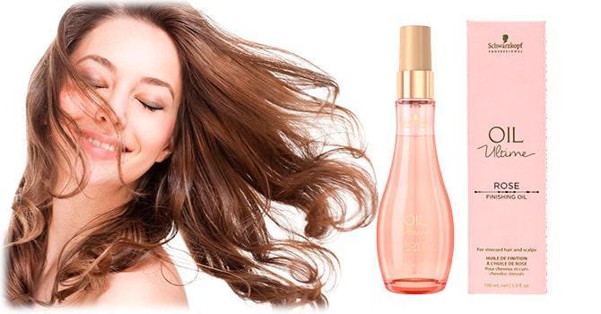 Масло розы для волос