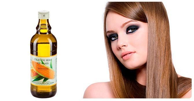 Масло кукурузы для волос
