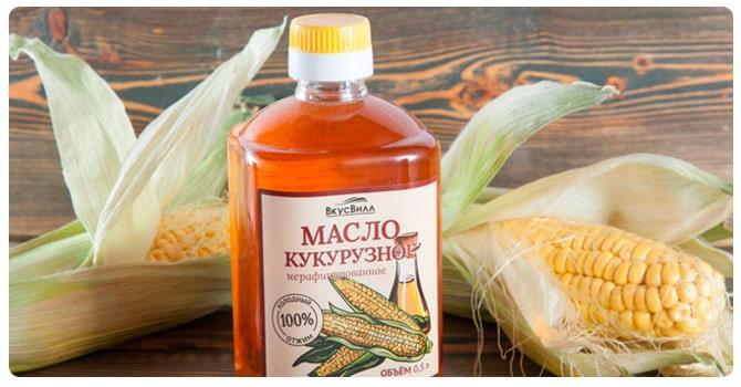 Вред масла кукурузы