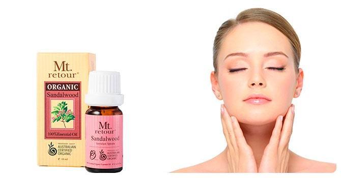 Сандаловое масло в косметологии