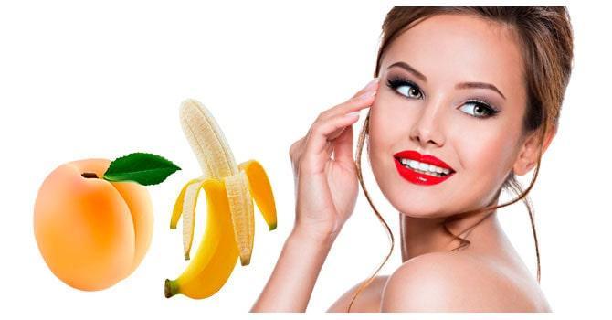 Маски из фруктов омолаживающих лицо