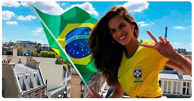 Девушка на бразильской диете