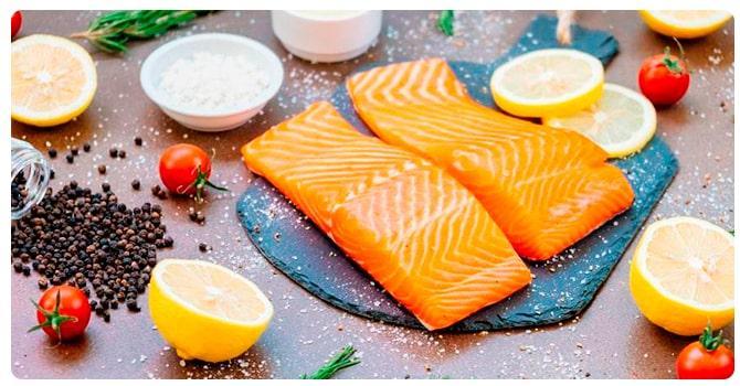 Кусочки рыбы