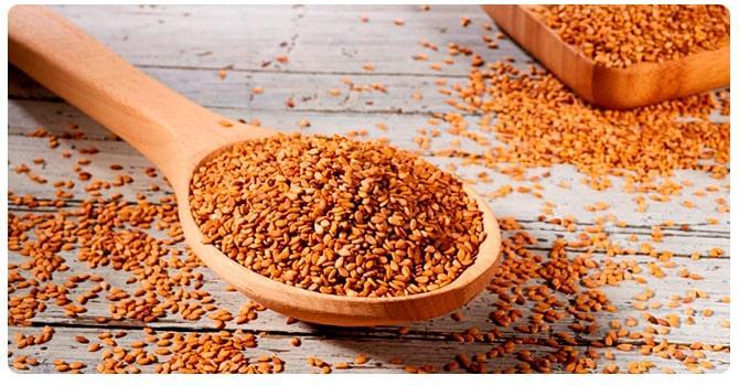 Льняные семена