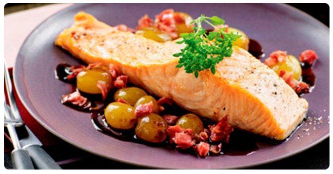 Рыба и виноград